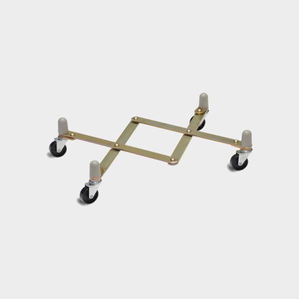 Метална платформена количка тип ножица 8080-173