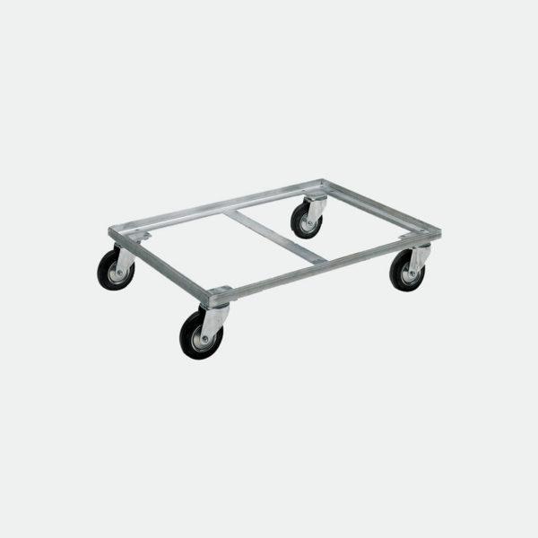 Метална платформена количка 80-172-4