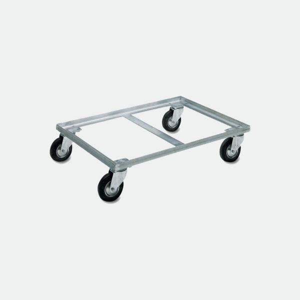 Метална платформена количка 80-912