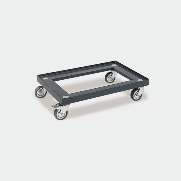 Пластмасова платформена количка 80-156-0