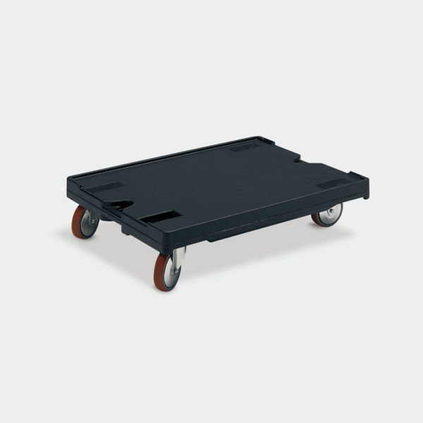 Пластмасова платформена количка 80-184-185-R
