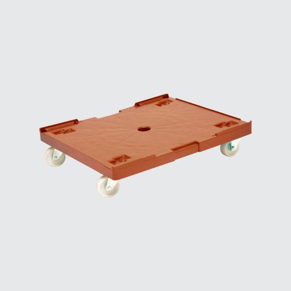 Пластмасова платформена количка 80-200-105