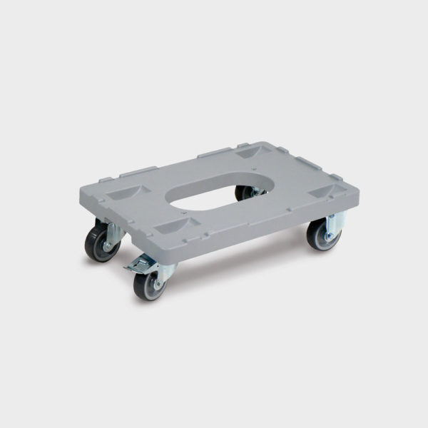 Пластмасова платформена количка 80-55-26