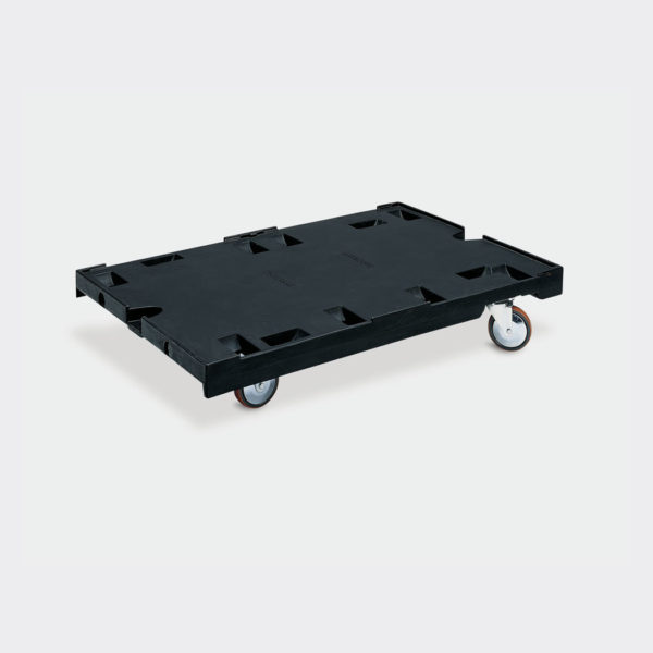 Пластмасова платформена количка 80-954-85
