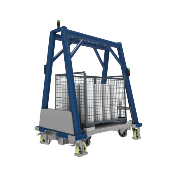 Повдигаща електрическа платформена количка ICM 01