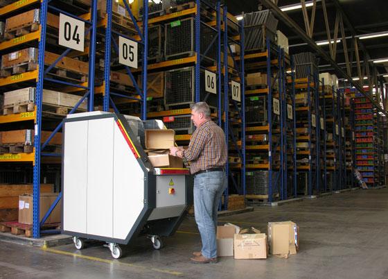 Рециклируема машина за балиране на отпадъци MCD 05