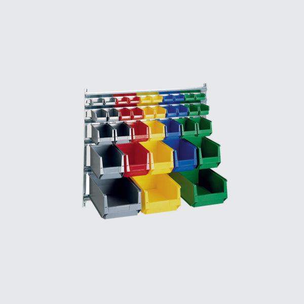 Стелаж за съхранение на кутии 80-166-12