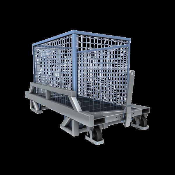 Cărucior pentru transportul boxpaleților ICM 08