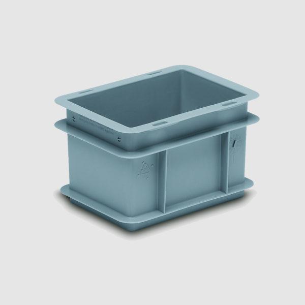 Eurocontainer sau cutie stivuibila din plastic Rako 3-237-0