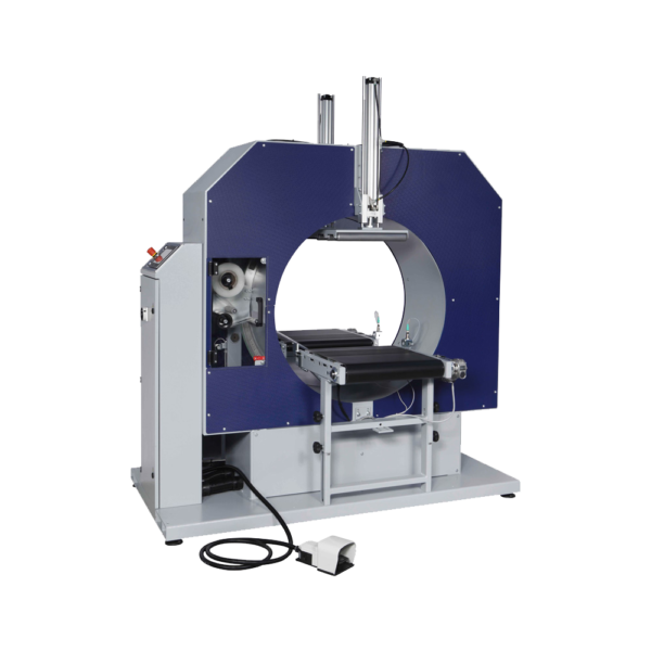 Semi-automatic wrapping machine MI 05