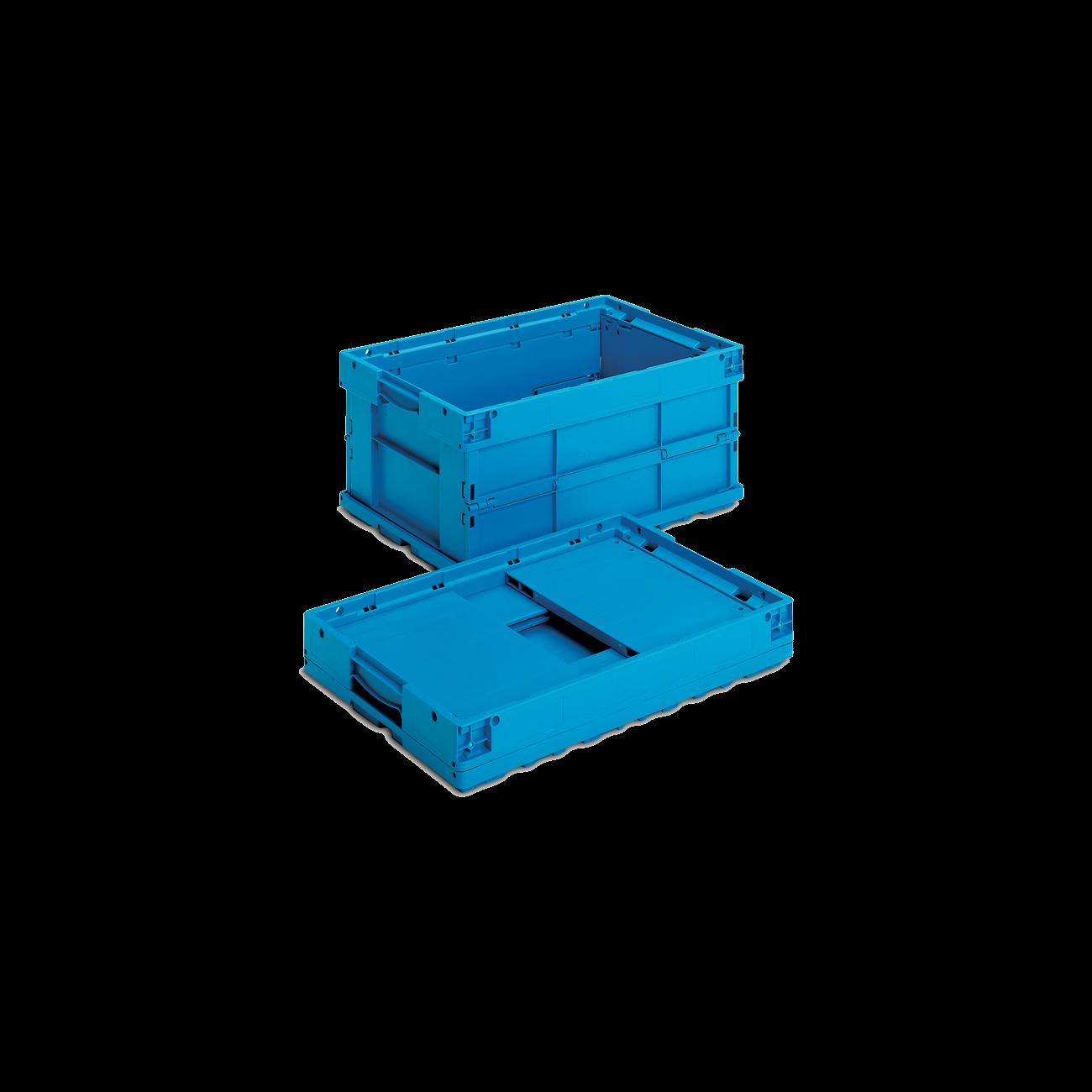 Plastic Foldable Crate VDA 6410, Automotive Industry