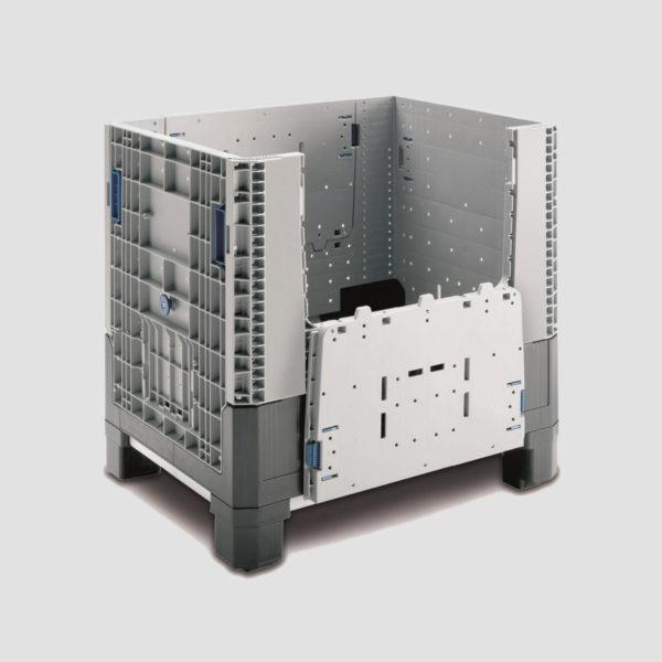 Boxpalet din plastic pliabil 34-8677-7402-02-V