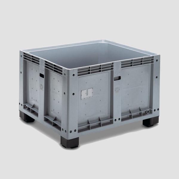 Boxpalet din plastic rigid 3-624-100 pentru industria alimentară
