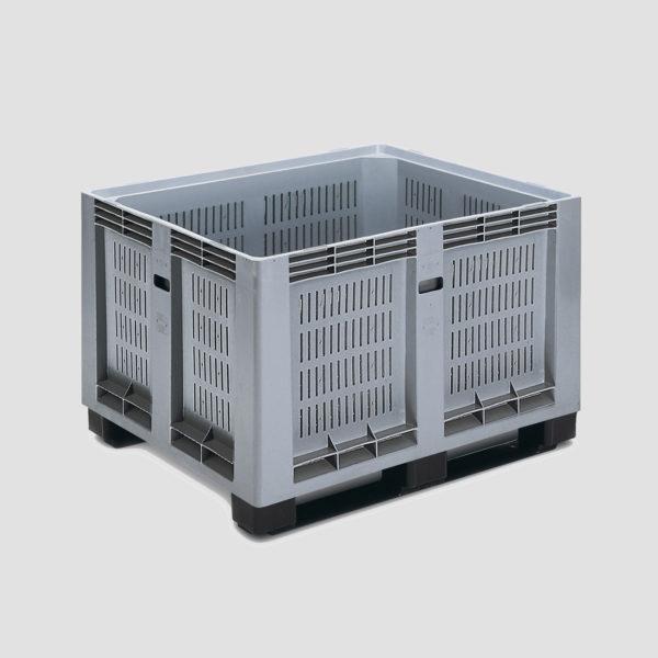 Boxpalet din plastic rigid 3-624-202 pentru industria alimentară