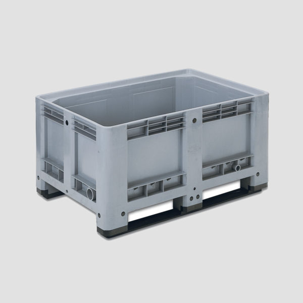 Boxpalet din plastic rigid 58-1090-CT6 pentru industria alimentară