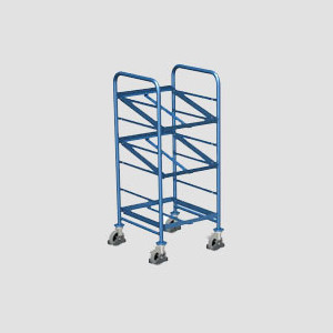 Cărucior tip Trolley pentru eurocontainere TR 02