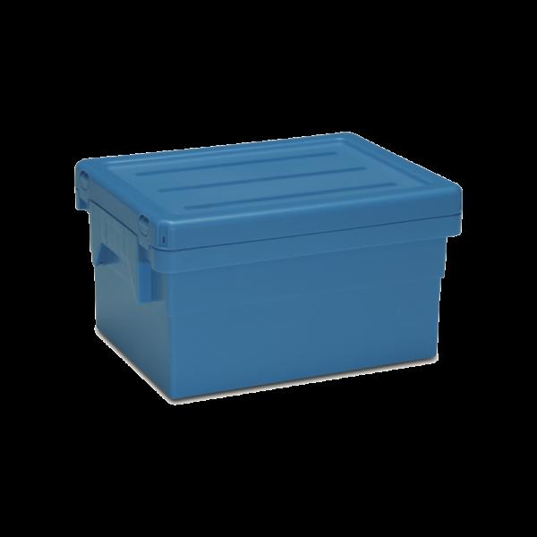 cutie Poolbox dublu stivuibila de distributie din plastic 39-1043-230-100