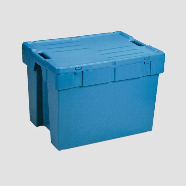 cutie Poolbox dublu stivuibila de distributie din plastic 39-1086-600-100