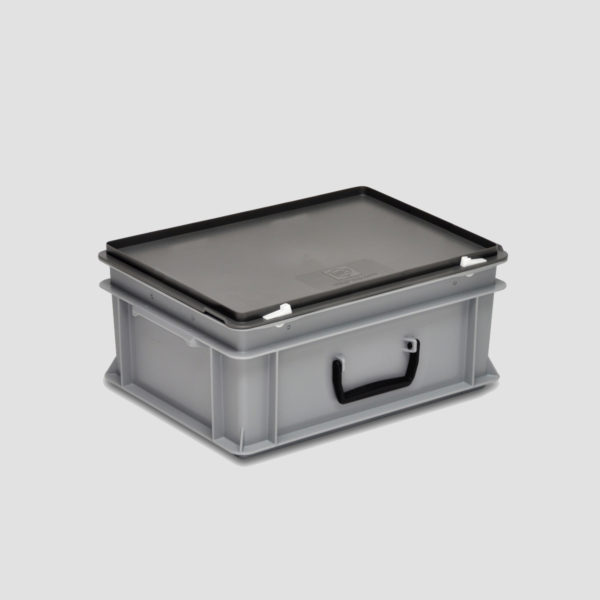 cutie cu maner din plastic 35-207