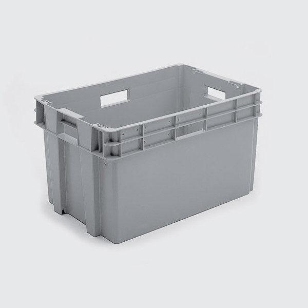 cutie dublu stivuibila fara ajutorul capacului din plastic 3-500-501