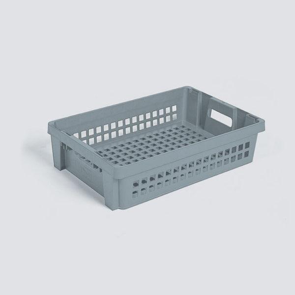 cutie dublu stivuibila fara ajutorul capacului din plastic 3-808-1