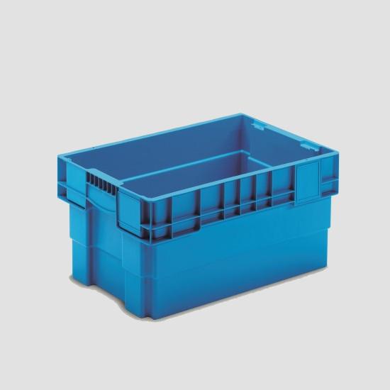 cutie dublu stivuibila fara ajutorul capacului din- plastic 43-6430-11