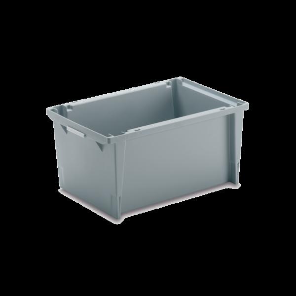 cutie dublu stivuibila in sistem cuib din plastic 3-250
