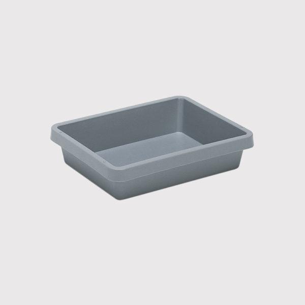 cutie dublu stivuibila in sistem cuib din plastic 3-863