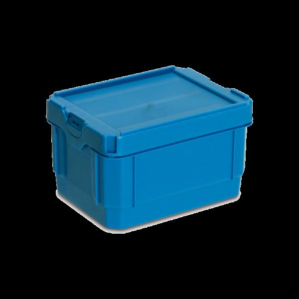 cutie stivuibila de distributie din plastic POOLBOX 39-1215-120-100