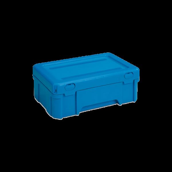 cutie stivuibila de distributie din plastic POOLBOX 39-2032-120-100
