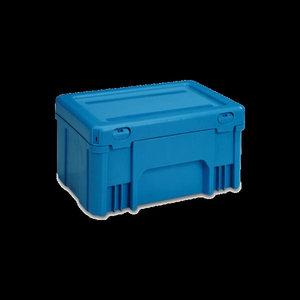 cutie stivuibila de distributie din plastic POOLBOX- 39-2032-170-100