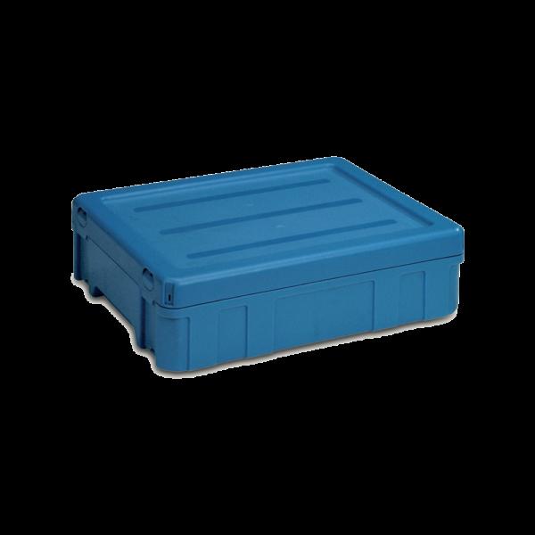 cutie stivuibila de distributie din plastic POOLBOX 39-2043-120-200
