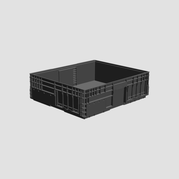 cutie stivuibila din plastic VDA-M-KLT-1060-174-0