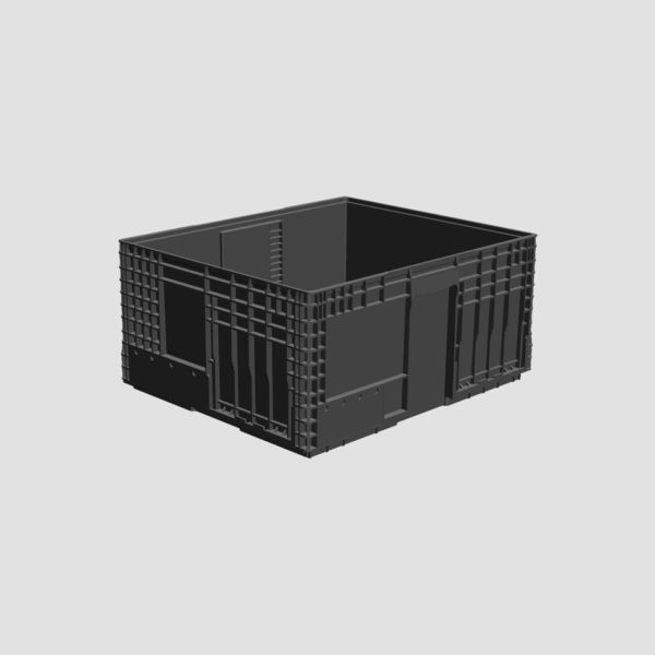cutie stivuibila din plastic VDA-M-KLT-1060-280-0