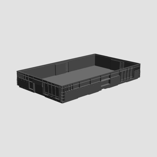 cutie stivuibila din plastic VDA-M-KLT-6050-147-0