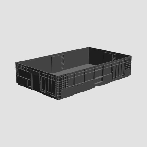 cutie stivuibila din plastic VDA-M-KLT-6050-213-0