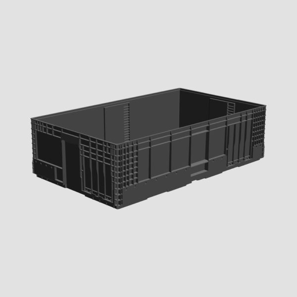 cutie stivuibila din plastic VDA-M-KLT-6050-280-0