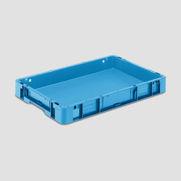 cutie stivuibila din plastic sau eurocontainer Eurotec 5-6408-524