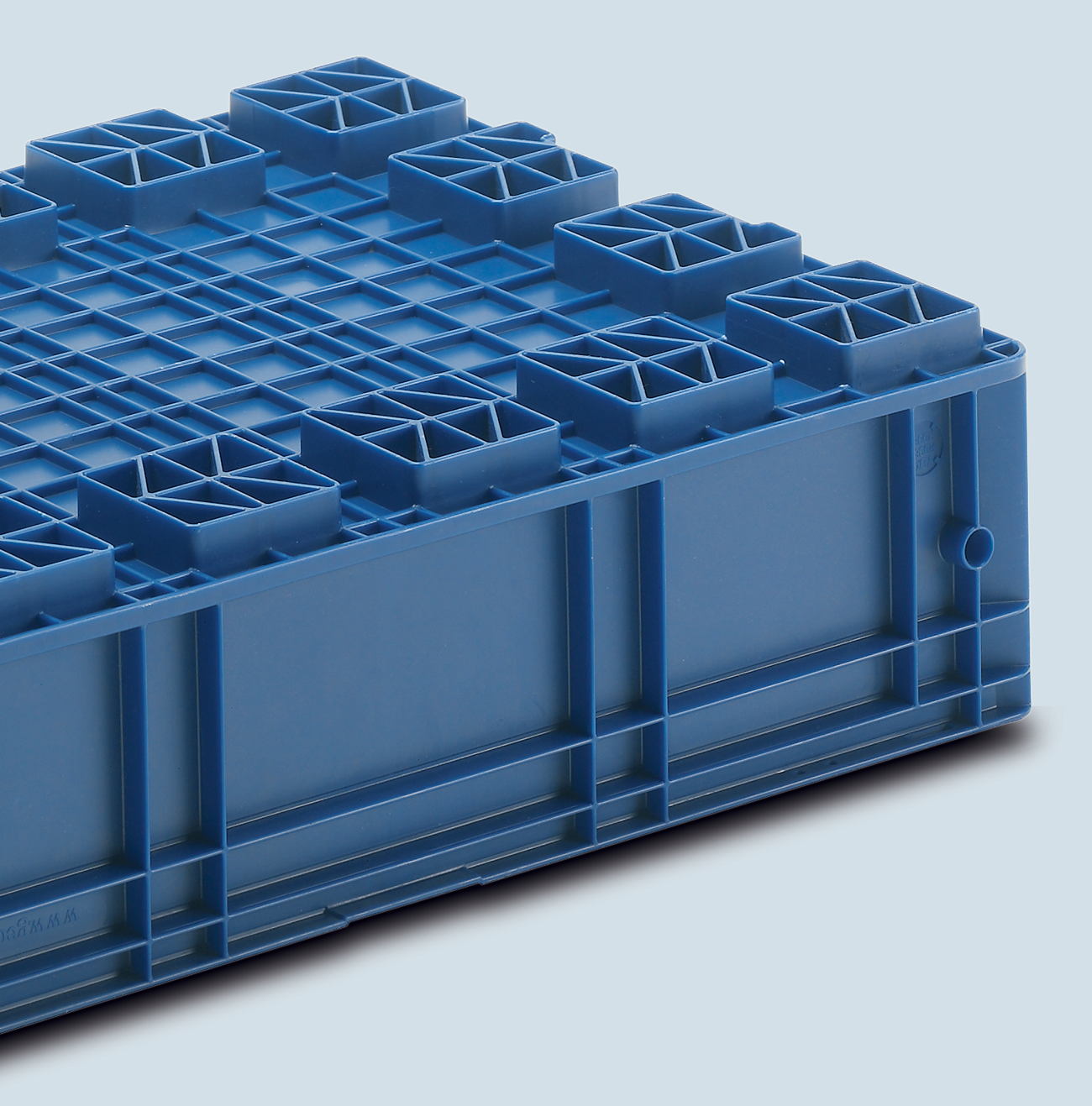 Plastic Container VDA-R-KLT 6415, Automotive Industry