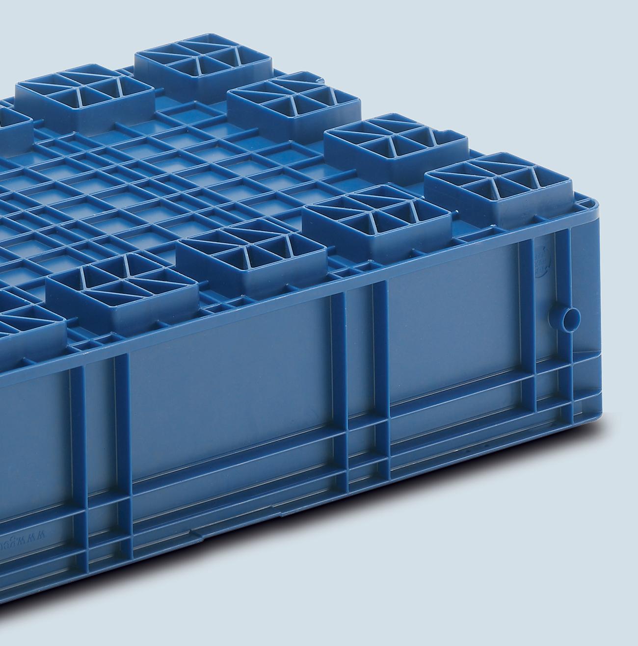 Plastic Container VDA-R-KLT 6420, Automotive Industry