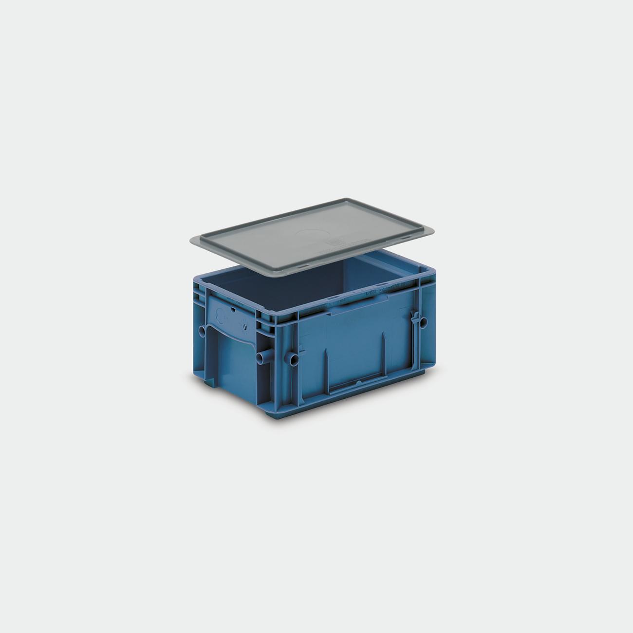 Solid Plastic Container VDA-RL-KLT 3147
