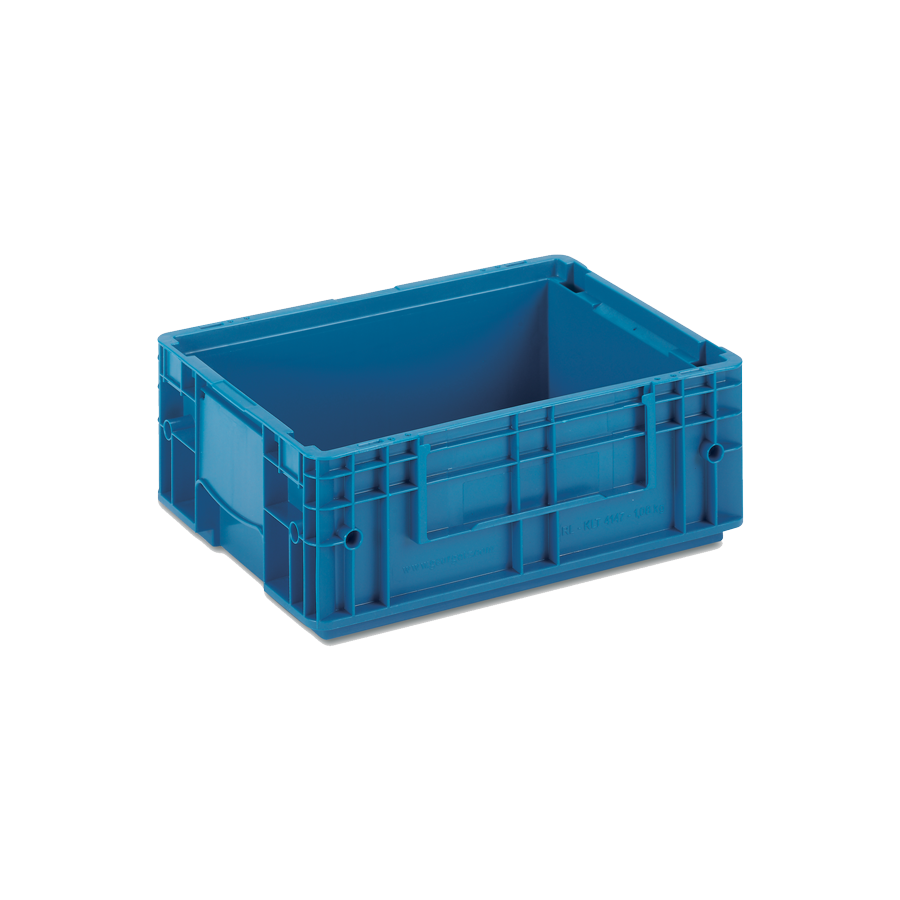 Solid Plastic Container VDA-RL-KLT 4147