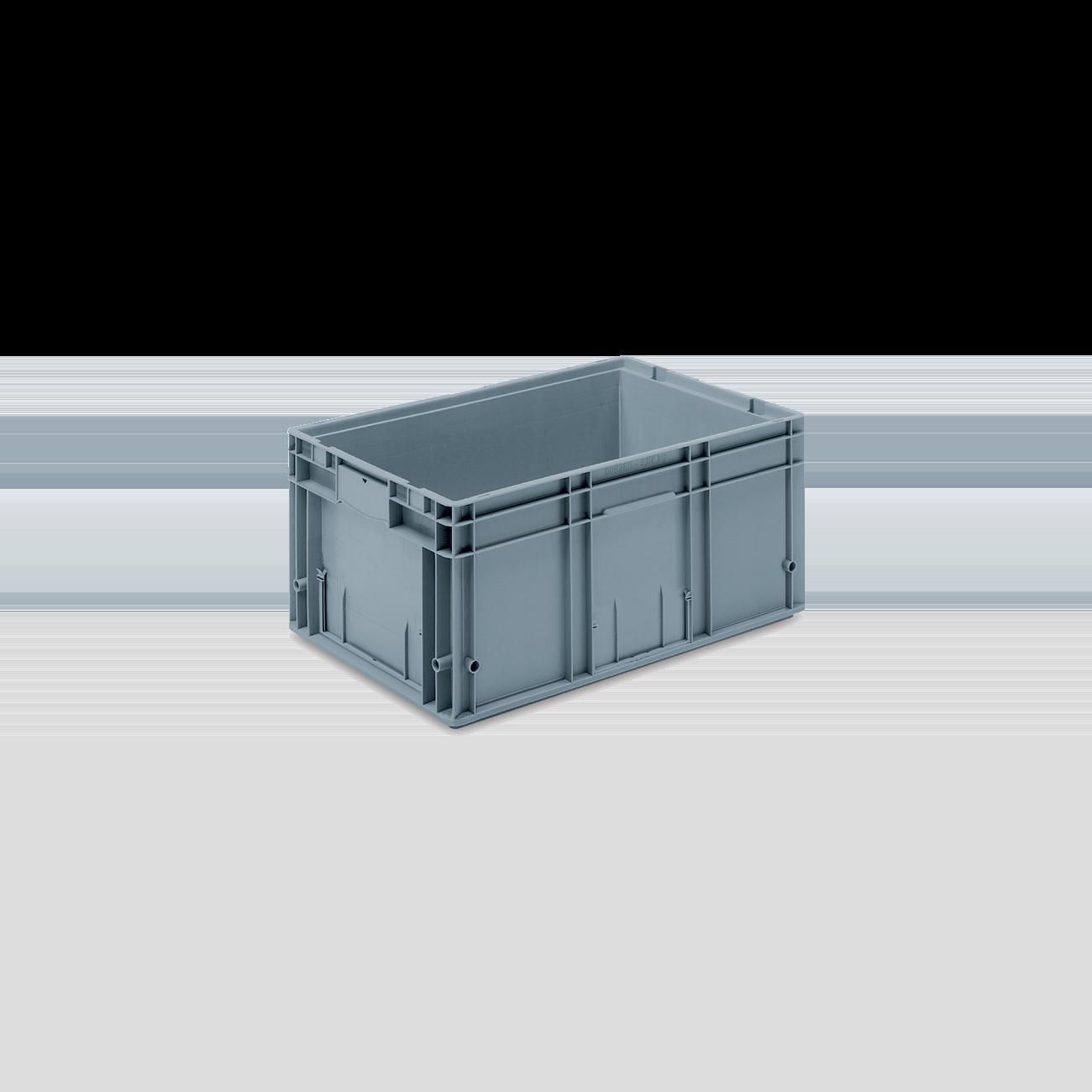 Solid Plastic Container VDA-RL-KLT 6280