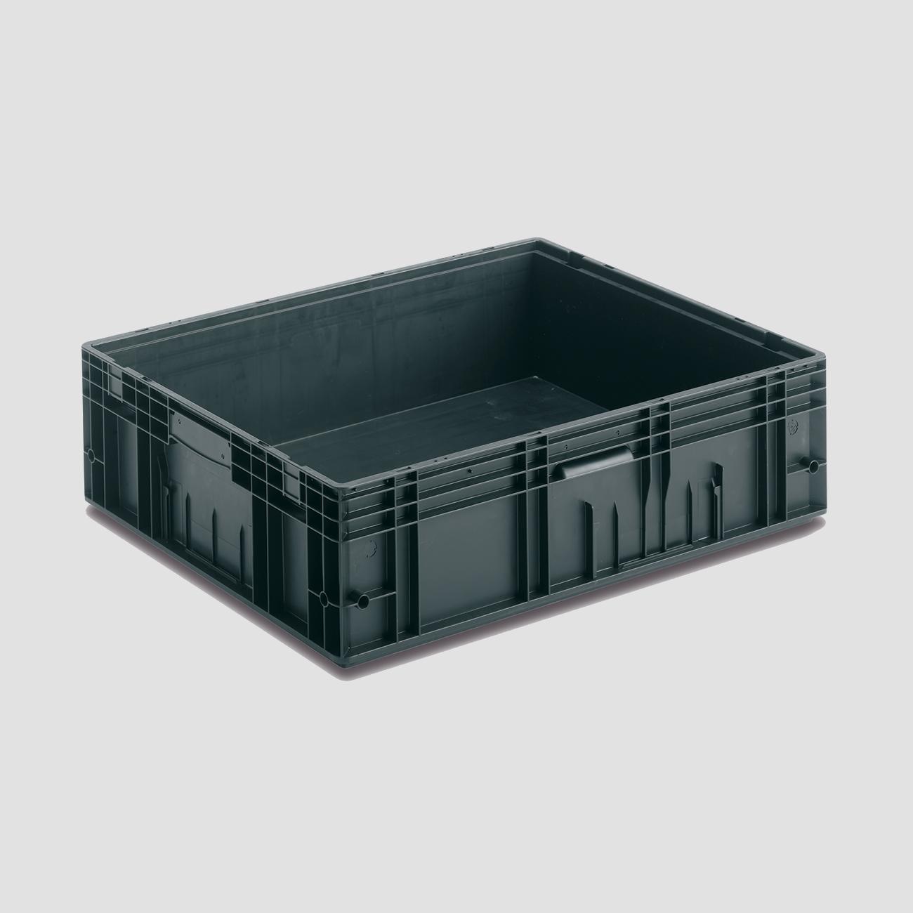 Solid Plastic Container VDA-RL-KLT 8612