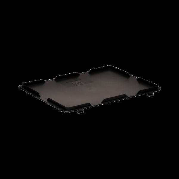 Capac cu balamale 3-214Z-1-11 EL pentru containere rako esd
