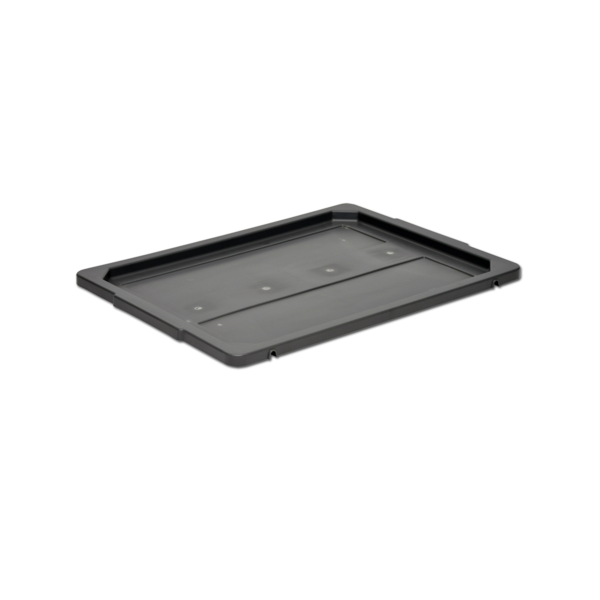 Slip lid 8-301-1 for nestable plastic crates/containers/boxes