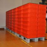Reusable packaging rental